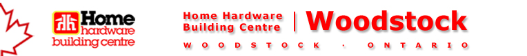 Welcome to Home Hardware Building Centre-Woodstock